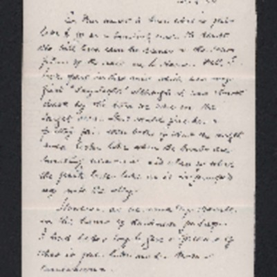 Letter to his wife from Herbert Gray.
